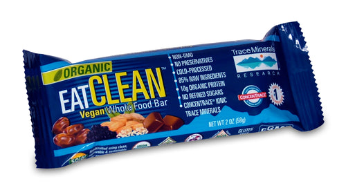 Trace Minerals Eat Clean Vegan Whole Food Bar