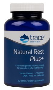 Trace Minerals Natural Rest Plus