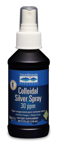Trace Minerals Colloidal Silver Spray 4 oz