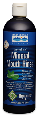 Trace Minerals ConcenTrace Mineral Mouth Rinse 16 oz