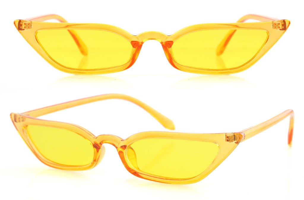 Leisha Sunglasses (Yellow)
