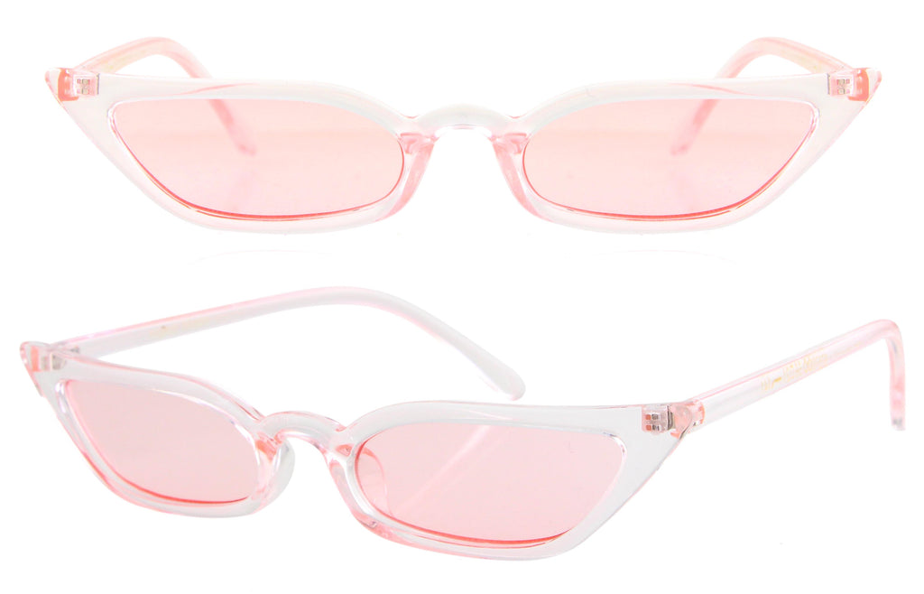 Leisha Glasses (Pink)