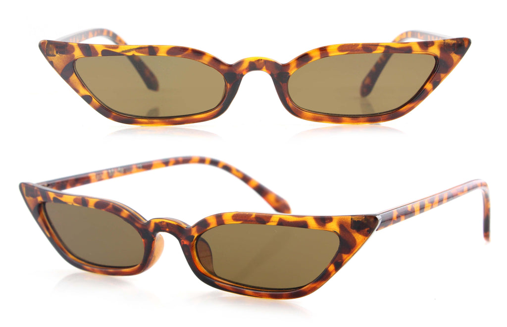 Leisha Glasses (Brown)