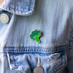 Broccoli Enamel Pin