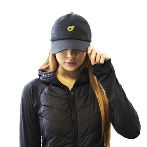 Avocado Hat - Black