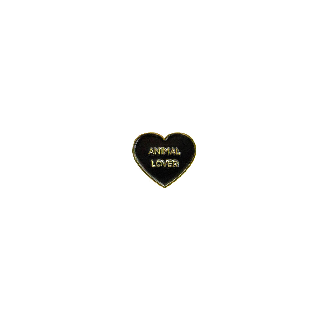 Animal Lover Enamel Pin