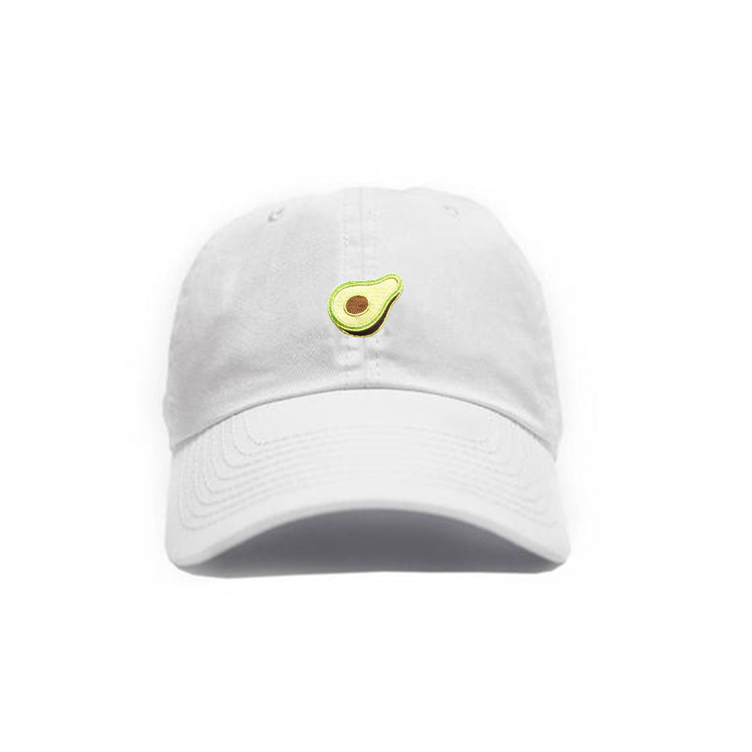 Avocado Hat - White