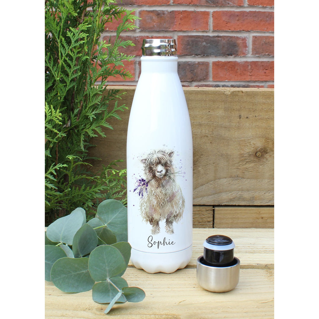 Personalised Cooper The Sheep Water Bottle
