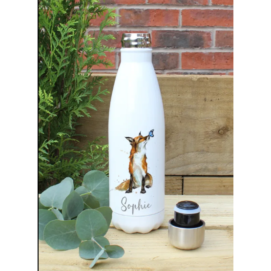 Fox Hot & cold Drink Personalised Bottle