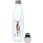 Stag Hot and cold Drink Personalised Bottle