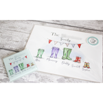 Wellington Boot Print & Coaster