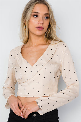 Mary Mary Polka Dot Crop