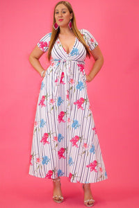 Field of Flowers Maxi Dress