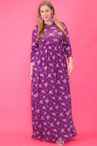 Honey Nectar Floral Maxi