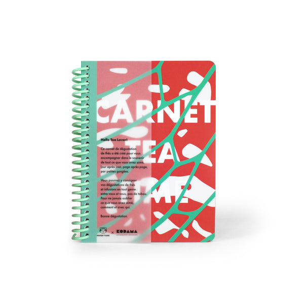 Carnet Tea Time - en collaboration avec Papier Tigre