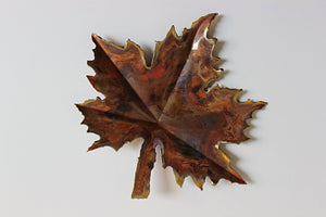 Maple leaf copper