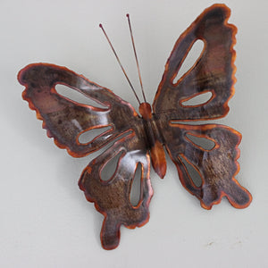 Copper Butterfly Wall Art