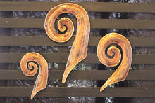 Load image into Gallery viewer, Copper Koru Wall Art