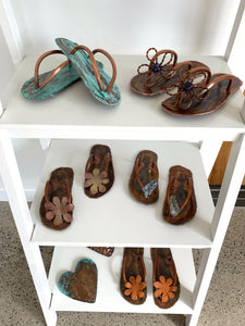 Jandals on the shelf