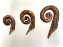Load image into Gallery viewer, Copper koru artwork