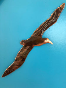 Copper Large Seagull Wall Art