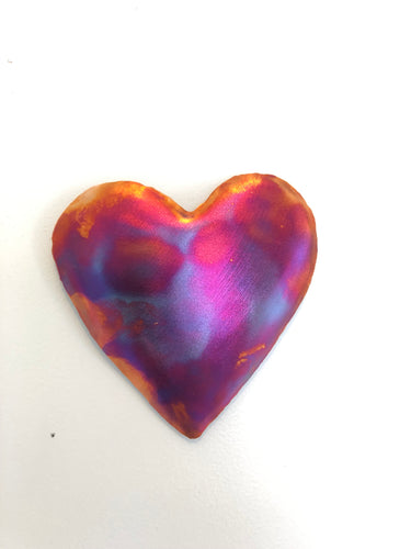 Copper Love Heart Wall Art