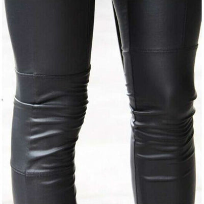 Women sexy Black coffee Modal leggings