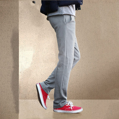 Jogger Pants Men Winter Thick Trousers Sporting Pants