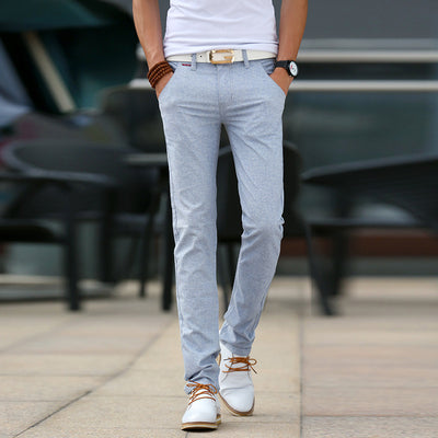 High quality Men's Linen Pants men