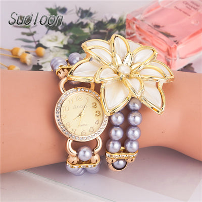 Latest style hot selling ladies' Bracelet Watch Rose Gold Watch case