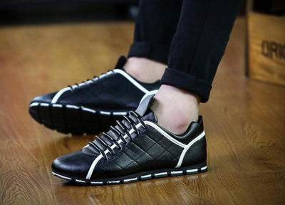 New men business breathable dress shoes