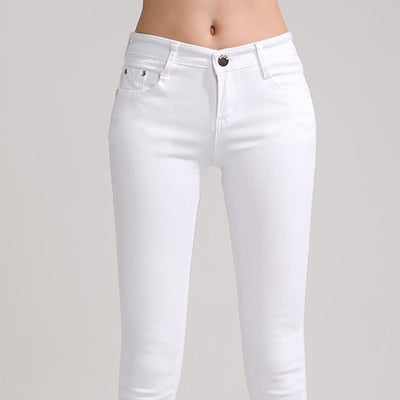 High Waist Jeans High Elastic plus size Women