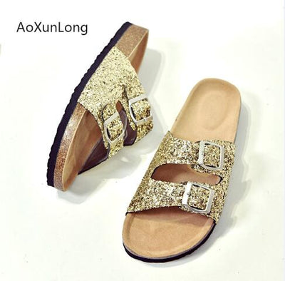 Slippers Sandals Thick Soles Muffin Soft Home Flip Flops Outdoor Beach Slippers