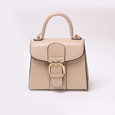 Small Square Carrying Messenger Solid Color Bag