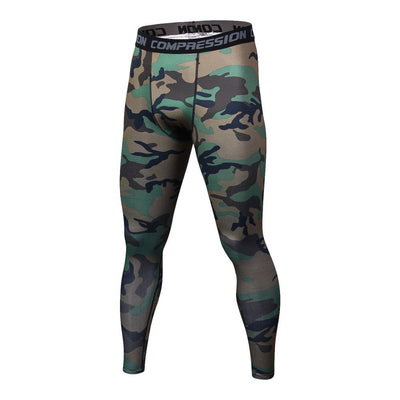 3D printing Camouflage Pants Men Fitness Mens Joggers Compression Pants