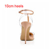 Summer Pointed Toe T-Strap  Woman Sandals 90 Colors Personal Tailor