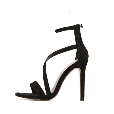 AIYKAZYSDL Sexy Concise Basic Women Sandals Streetwear