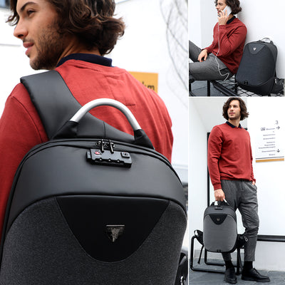 ARCTIC HUNTER New Anti-theft 15.6 Laptop Men Bag