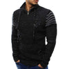 Casual Solid Full Sleeve Cotton Knitted Pullover Men M-XXL Knitwear