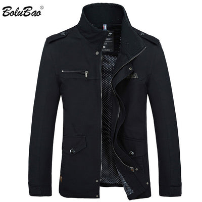 BOLUBAO Fashion Trench Coat New Autumn Brand Casual Silm Fit Overcoat Jacket