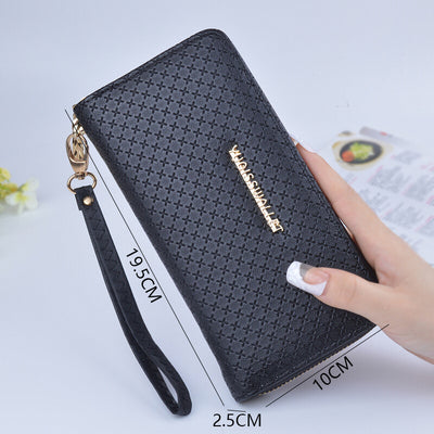 Black Fashion Wallet Women Long Ladies