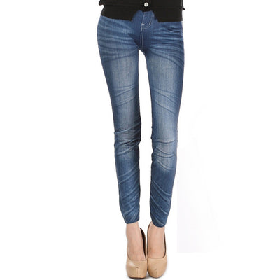Comfortable Skinny Pants Denim Leggings