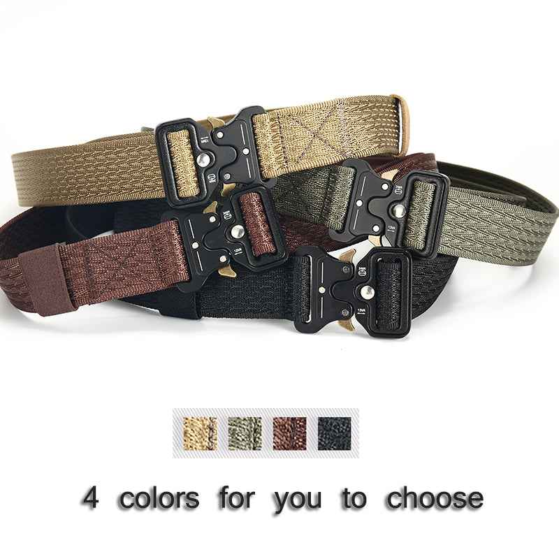 High Quality Canvas Belts For Male Army Colortactical Belt Mens Military Waist Canvas Belts Cummerbunds High Quality Belts No223 Men's Belts