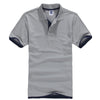 Fashion Short Sleeve Stand Down Collar