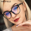 Fashion Anti Blue Light Glasses Frame Optical Black Pink Myopia Clear Eyeglasses Frame