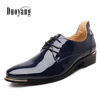 New fashion PU leather casual men sneakers shoes For Man Dress Shoes