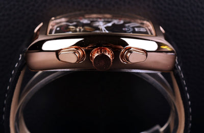 Forsining Rose Gold Case Mens Watches Top Brand Luxury Automatic Watch