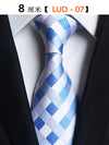 GUSLESON Classic 100% Silk Mens New Design Neck Ties