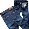 Denim Long Casual Cotton Jeans Men