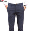 HCXY Commerce Casual Cotton Pants Pants Slim Fit Trousers Male
